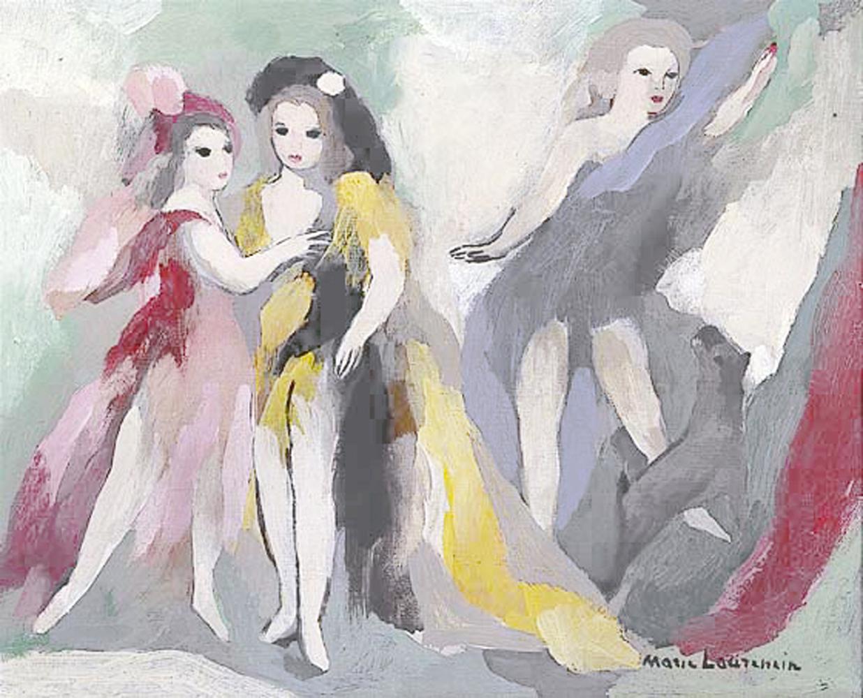 Bien connu MARIE LAURENCIN MUSEE MARMOTTANT MONET PARIS 16 FF42
